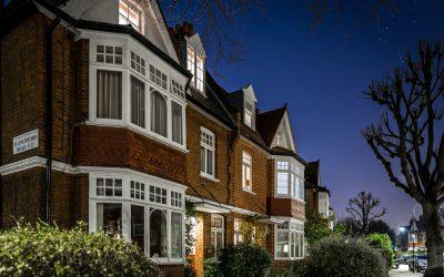 Why do Burglars prefer darker nights?